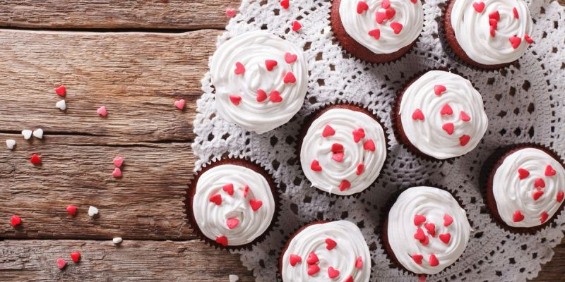 Delicious and Beautiful Valentine's Day Cupcakes